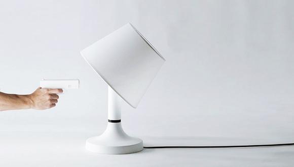 Die Lampe zum zerschießen Bang-Lights-Out