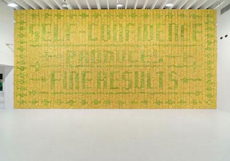 Art Installation: Die Bananenwand bananas1