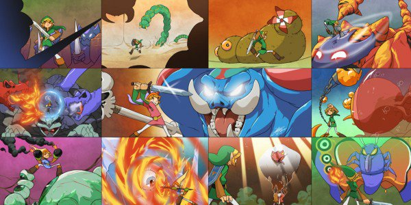 Die Endgegner aus Zelda