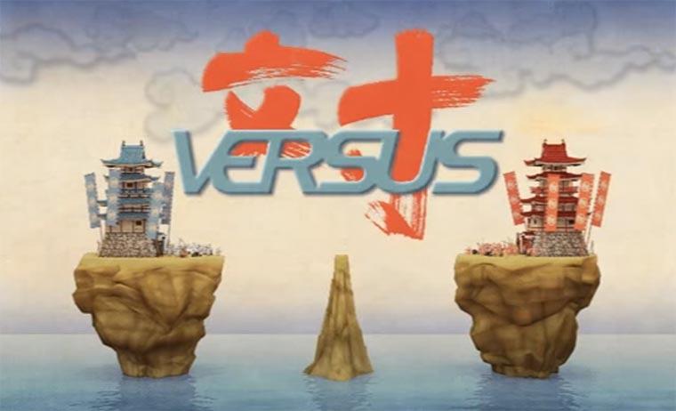 Der Samurai-Kampf um eine Insel versus