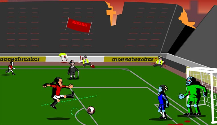 Game: Zombie Soccer zombiesoccer