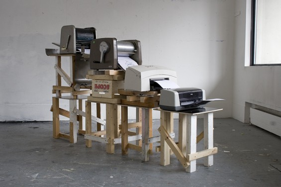 Die Drucker-Kolonne