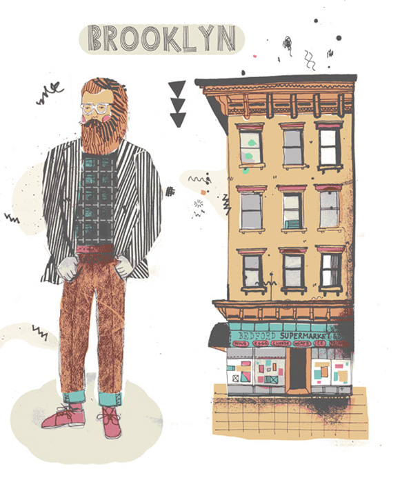 Fassadenillustrationen von New York james-gulliver-all-the-buildings-new-york-illustration-gessato-gselect-gblog-2