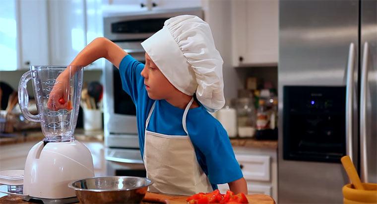 Little Chef - Wenn Kinder alleine Kochen little-chef