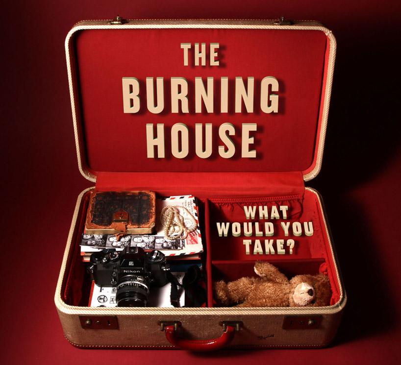 Was mitnehmen, wenn's brennt?