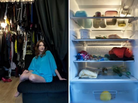 Personen und ihre Kühlschränke inyourfridge_01