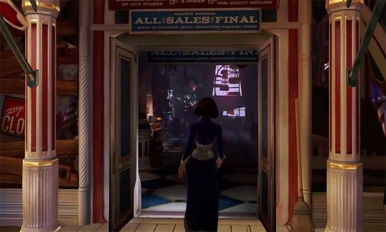 Bioshock Infinite: 15 Minuten Gameplay