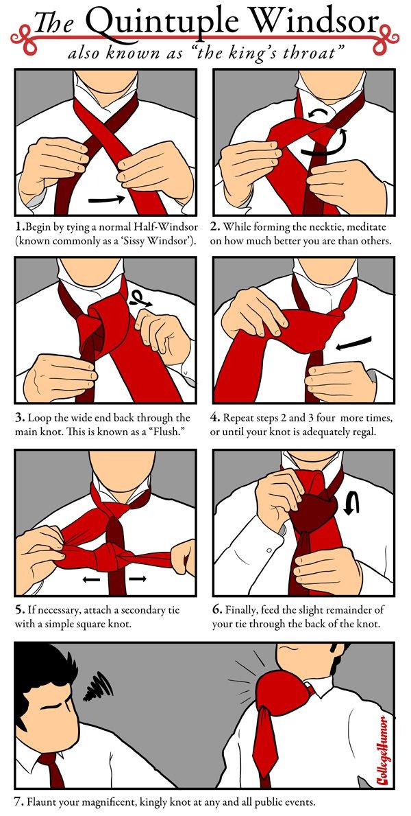 Krawatten-binden für Idioten c9a9c9f332ff110803301defea079195