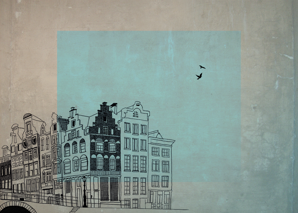 Wasserfarben-Illustrationen: Laura Wes­son Amsterdam