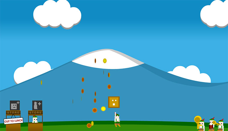 Sinnloses Spiel: Coinbox Hero coinbox1