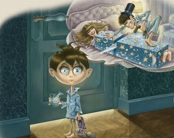 Kinderfantasien erklären die Welt