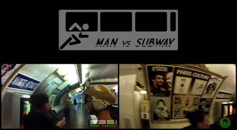 Subway Wars in echt. Man vs. Subway in Paris