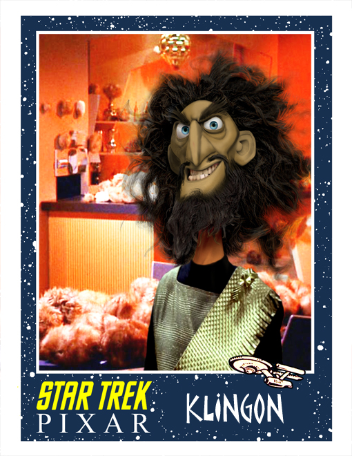 Star Trek made by Pixar klingon