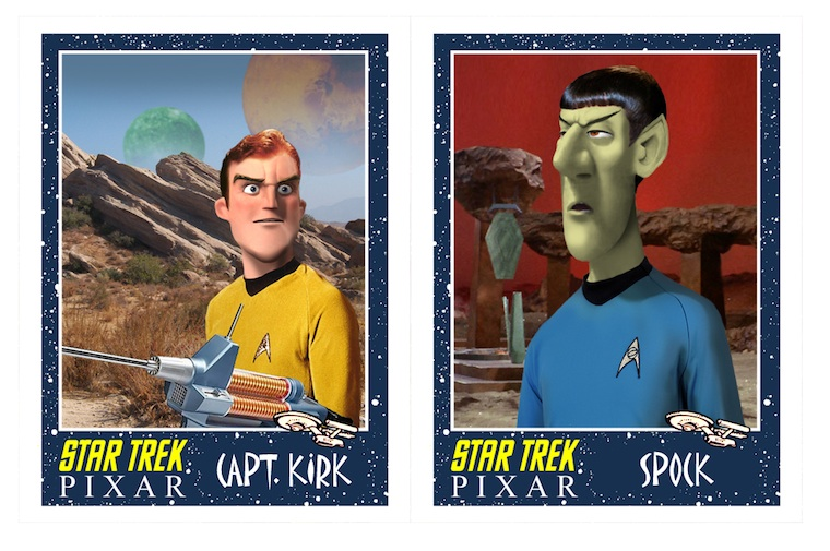 Star Trek made by Pixar