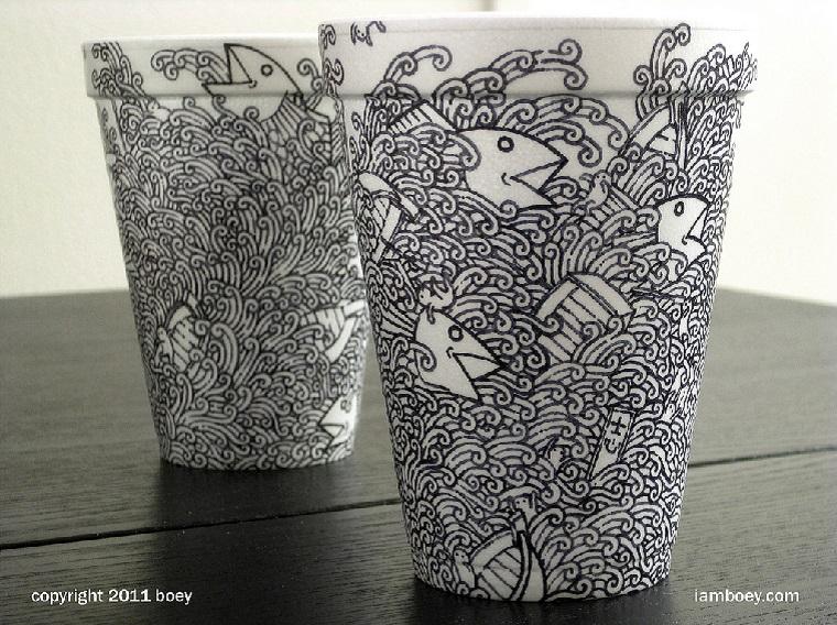 Kaffeebecherillustrationen: Cheeming Boey Boey_03
