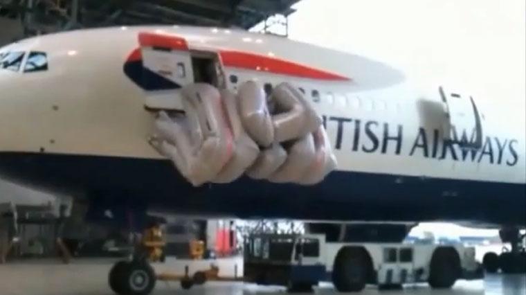 Die 10 schnellsten Flugzeugrettungsrutschen der Welt