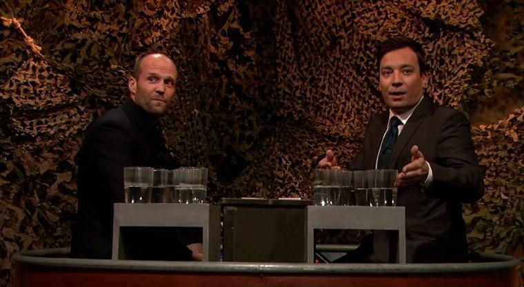 Jimmy Fallon, Jason Statham und zu viel Wasser jimmy-fallon-jason-statham-und-zu-viel-wasser