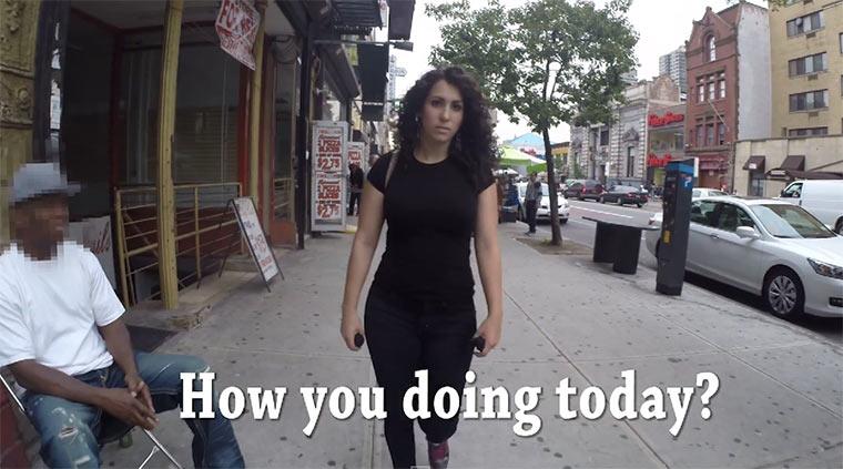 Dumme Anmachen bei 10 Stunden NYC