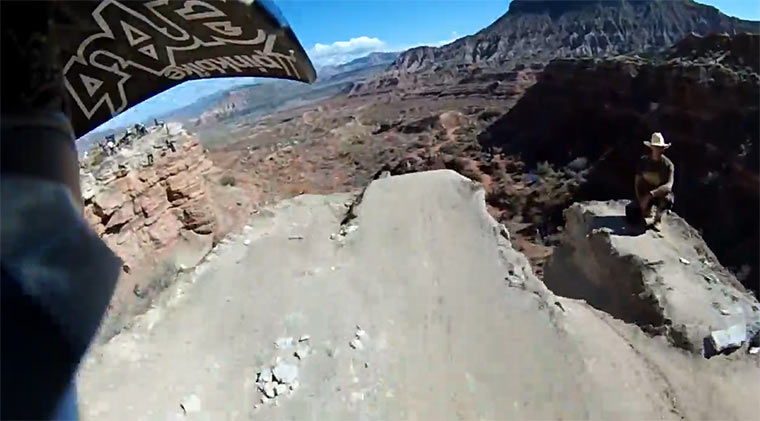 Cam Zink 360-Grad-Jump POV Cam_Zink_Red_Bull_Rampage