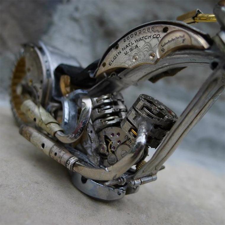 Motorräder aus Uhrenteilen Dan_Tanenbaum_02
