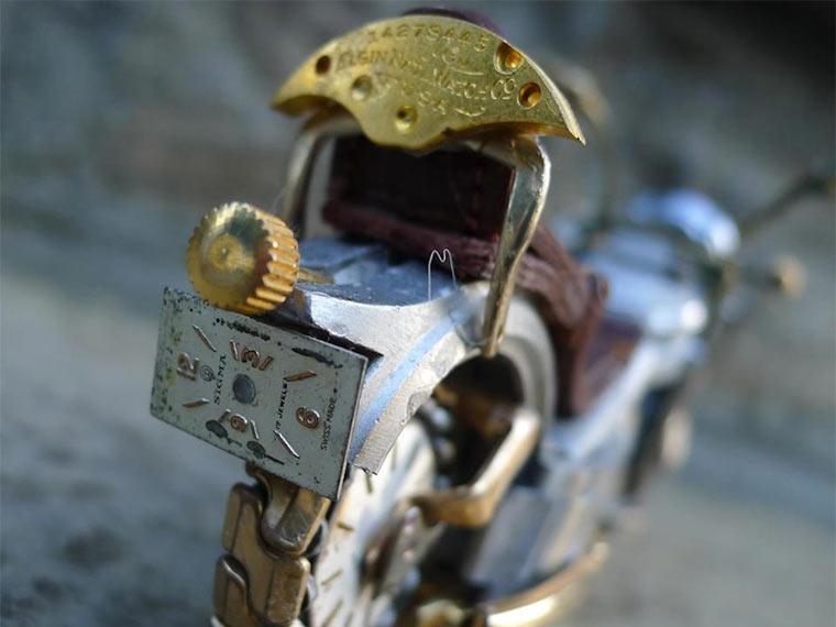 Motorräder aus Uhrenteilen Dan_Tanenbaum_09