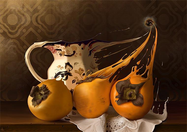 Hyperrealistische iPad-Malerei Jaime-Sanjuan-Ocabo_04