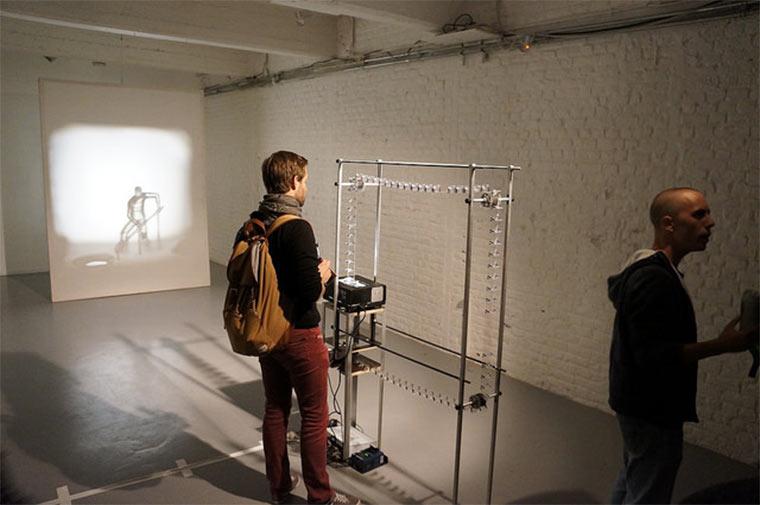 Filmprojektion aus 3D-gedruckten Figuren Julien-Maire_Relief_05