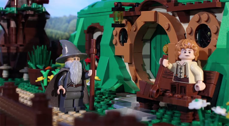 Hobbit in 72 Sekunden in LEGO LEGO_hobbit