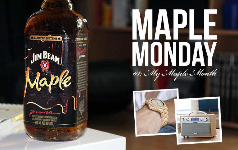 Maple Monday #1 – My Maple Month