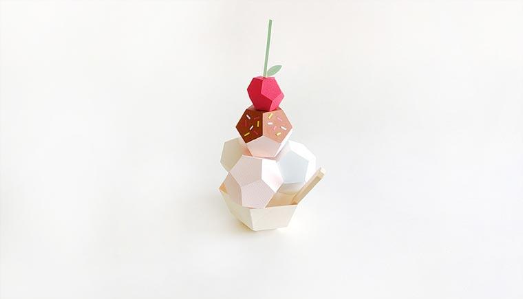 Papier-Desserts Paper_Food_06