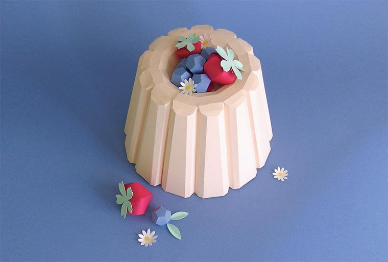 Papier-Desserts Paper_Food_08