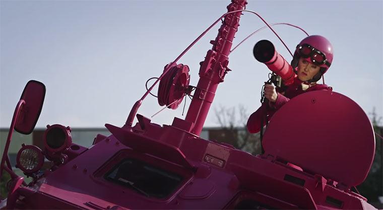 Der rosarote Panzer