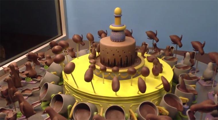 Schokoladen-Zoetrope