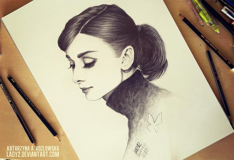 Zeichnungen: Katarzyna A. Kozłowska lady2art_01