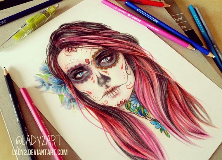 Zeichnungen: Katarzyna A. Kozłowska lady2art_03