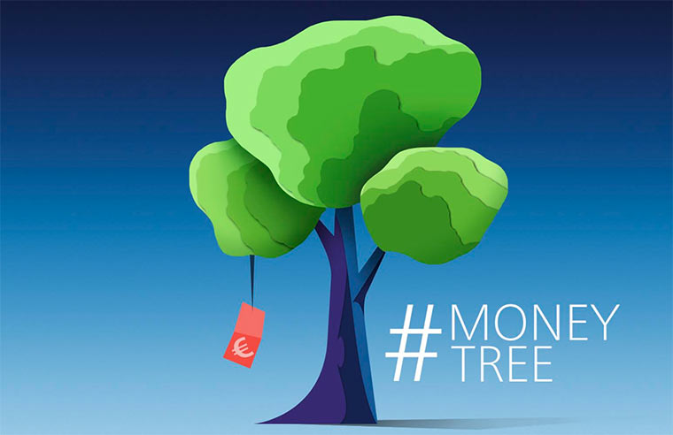 Spart lebenslang: #MoneyTree von o2 o2_moneytree