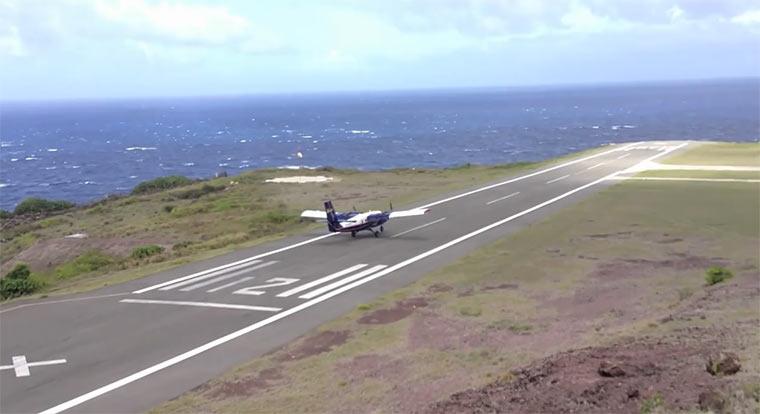 Kleinste Landebahn der Welt shortest_runway