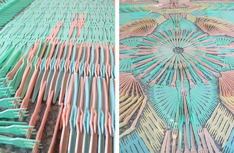 Teppiche aus Alltagsgegenständen wemakecarpets_05