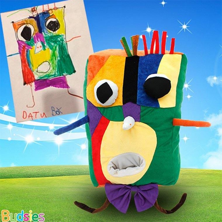 Aus Kinderzeichnungen werden Kuscheltiere Budsies_06