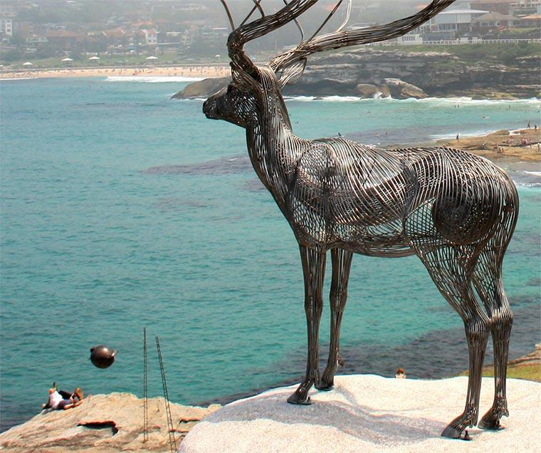 stählerne Tierskulpturen Byeong-Doo-Moon_03