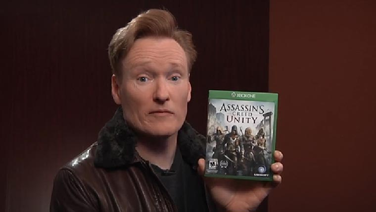 Conan spielt Assassin's Creed: Unity Clueless-Gamer_Assassins-Creed