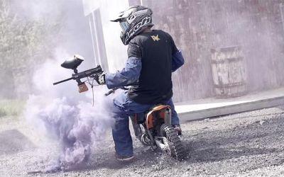 Motocross-Paintball