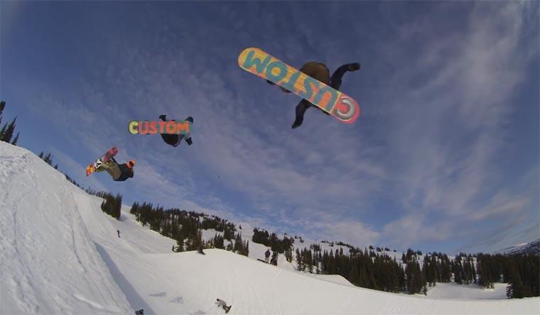 Snowboarding: Peace Park Peace_Park_Snowboarding