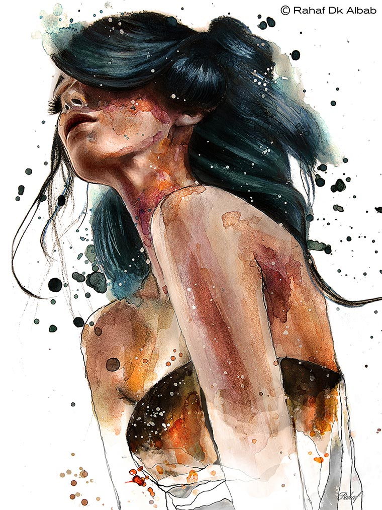 Illustration: Rahaf Dk Albab