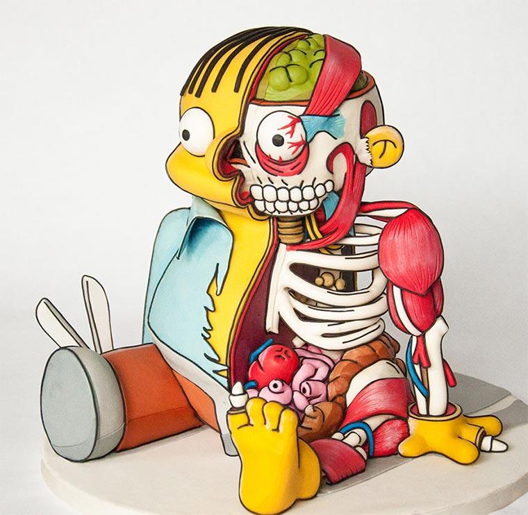 Ralph Wiggum Anatomy Cake Ralph-Wiggum_Cake_03