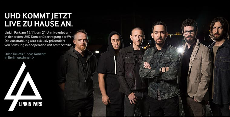 2 Tickets für Linkin Park in Berlin UHD_Linkin-Park_Samsung_01