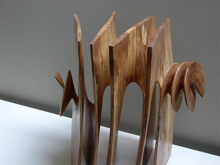 Verdrehte Holz-Skulpturen Xavier-Puente-Vilardell_03