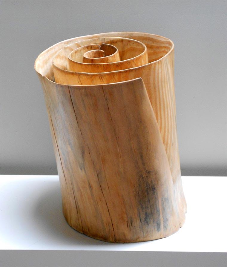 Verdrehte Holz-Skulpturen Xavier-Puente-Vilardell_04