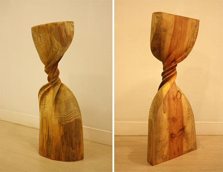 Verdrehte Holz-Skulpturen Xavier-Puente-Vilardell_05