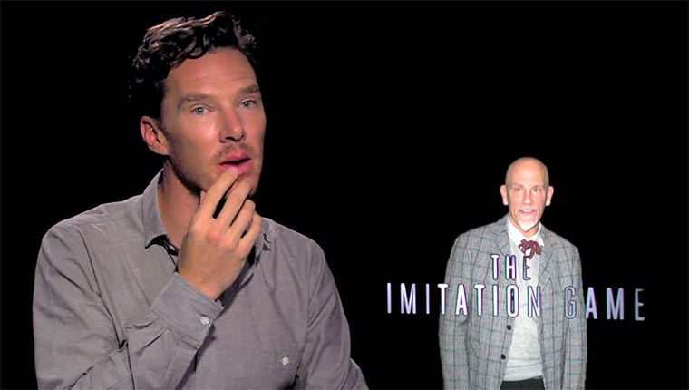 Benedict Cumberbatch imitiert the-imitation-game